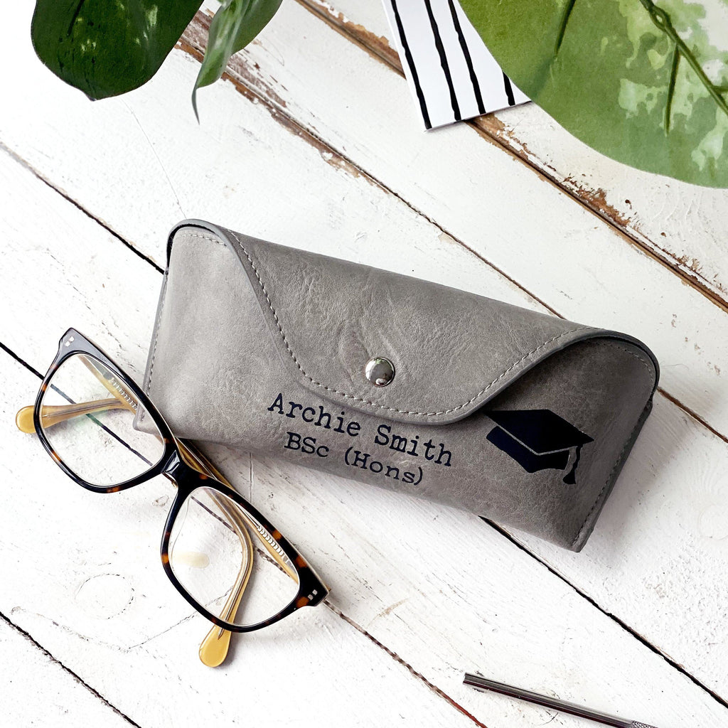 Personalised Graduate Glasses Case
