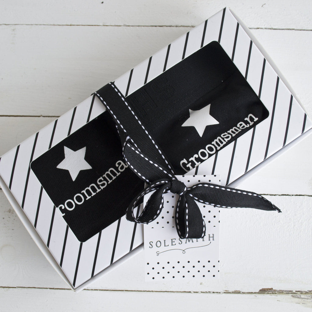Gift Box - Groomsmen, Socks, - ALPHS