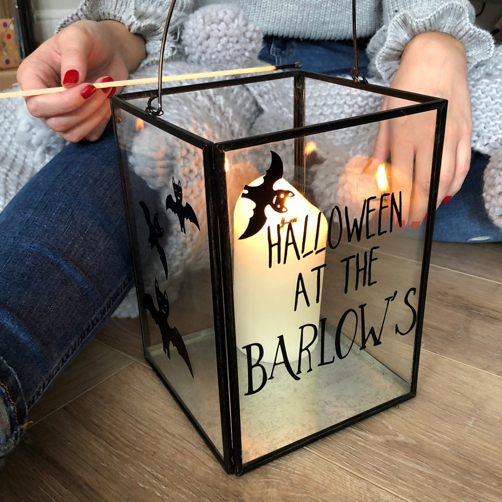 Personalised Halloween Lantern