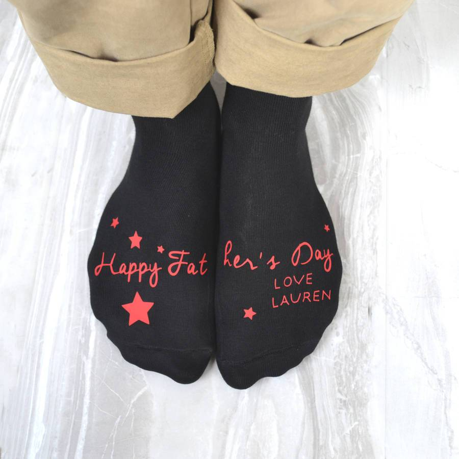 Father's Day Personalised Socks, socks, - ALPHS
