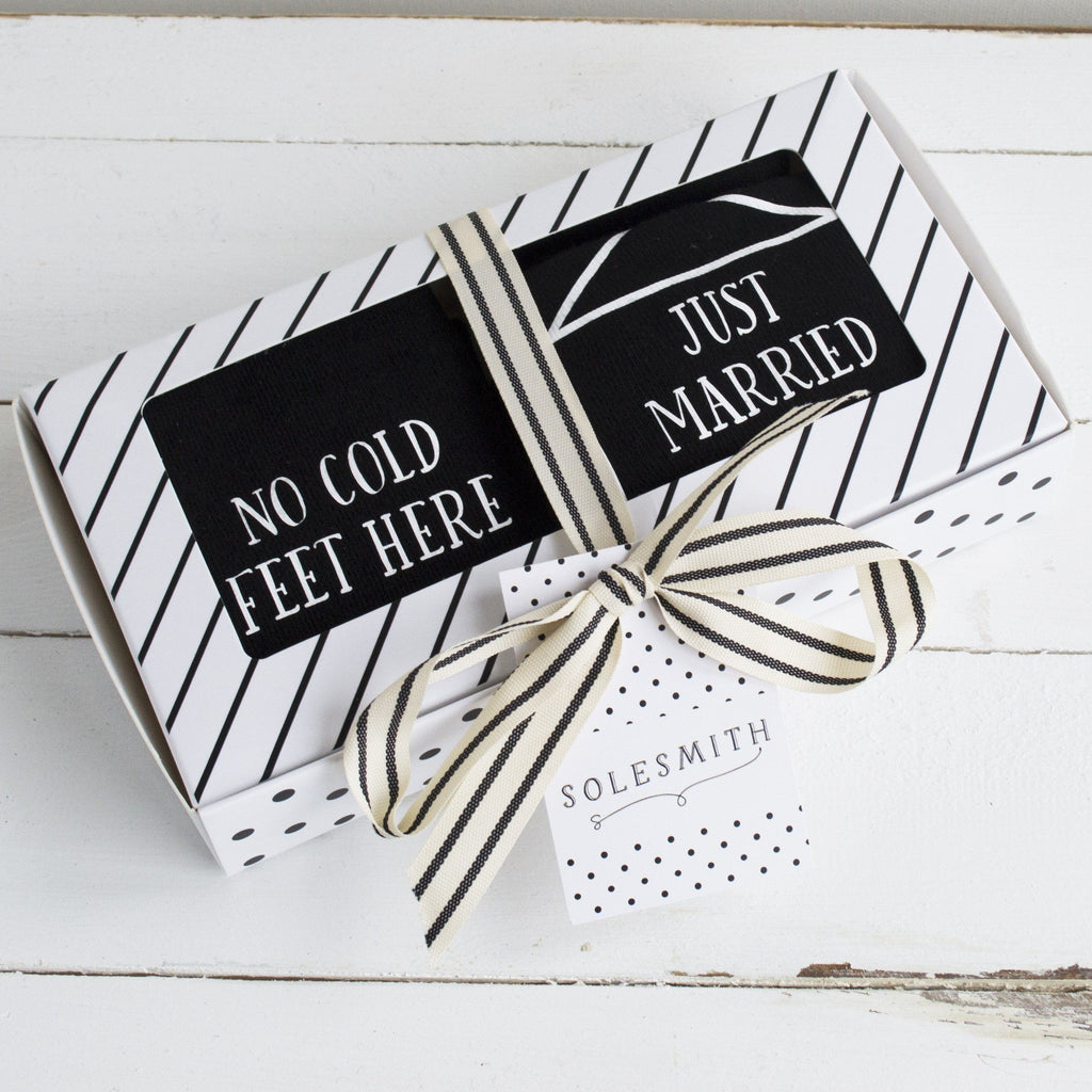 Gift Box - Just Married, Socks, - ALPHS