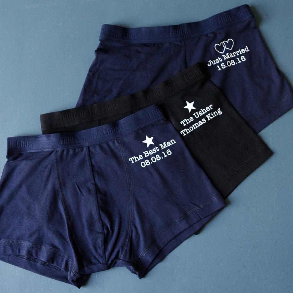 Groomsman Wedding Underwear, underwear, - ALPHS