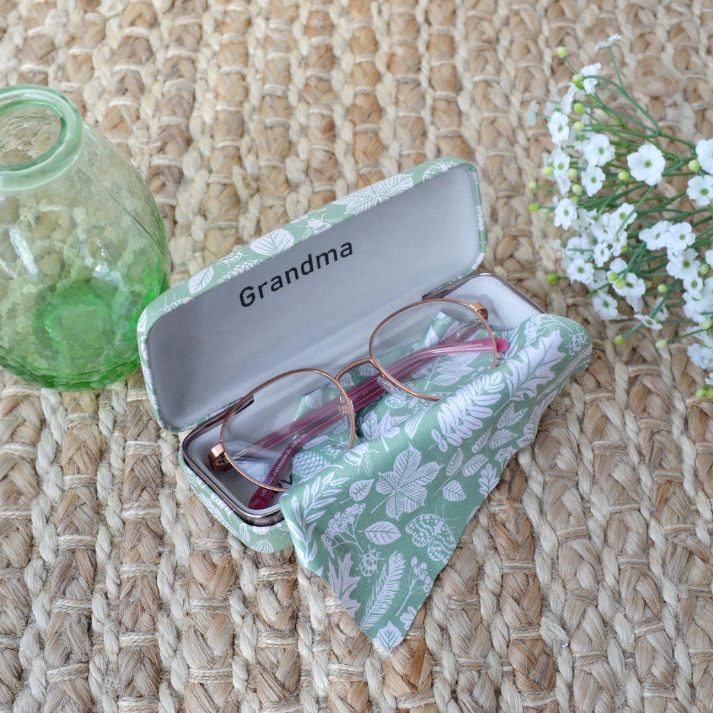 Personalised Hidden Message Nature Glasses Case