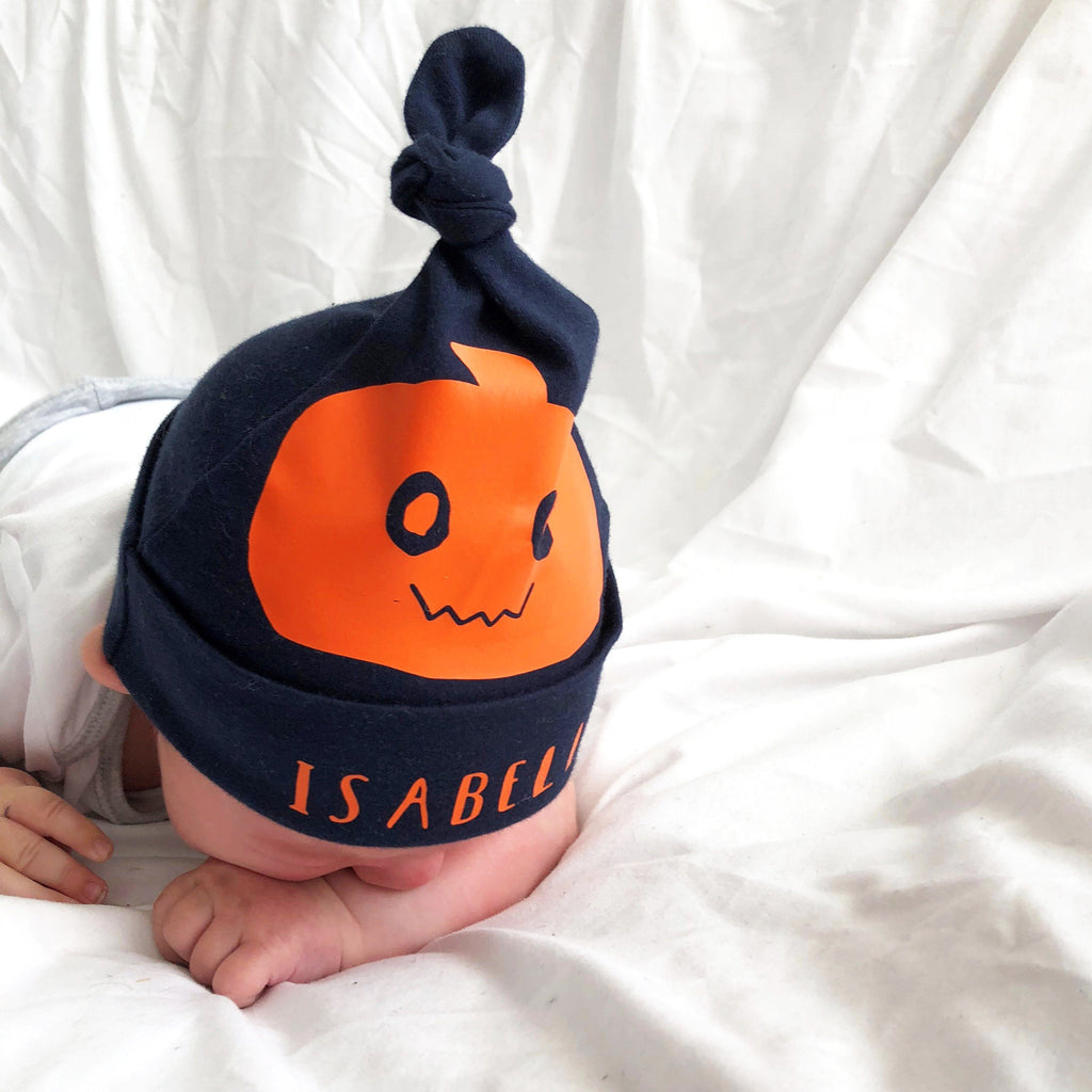 Personalised Halloween Pumpkin Hat, Hats, - ALPHS