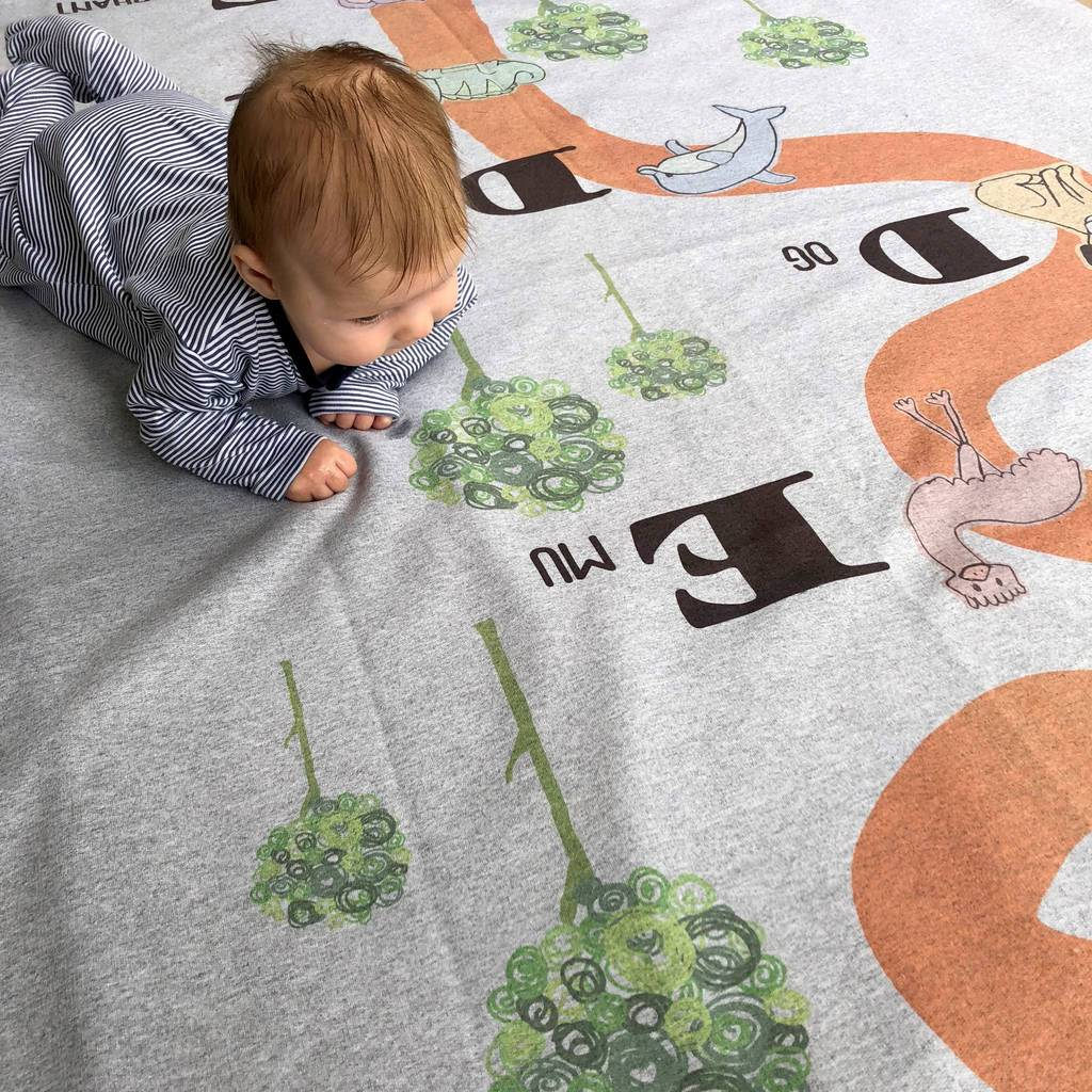 Adventures With… Personalised Children's Play Blanket, Blanket, - ALPHS