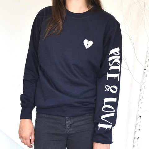 Piste and Love Ski Sweatshirt - ALPHS