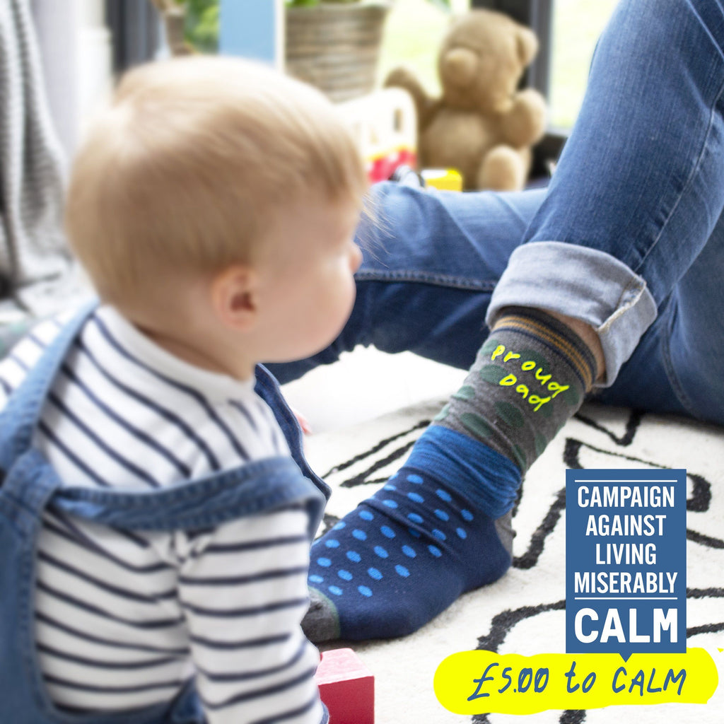 Proud Dad Socks for Good