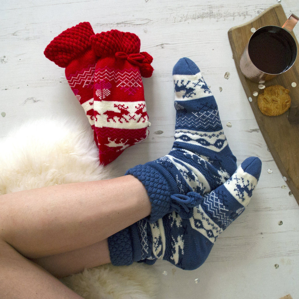 Apres Ski Personalised Slipper Boots, slippers, - ALPHS