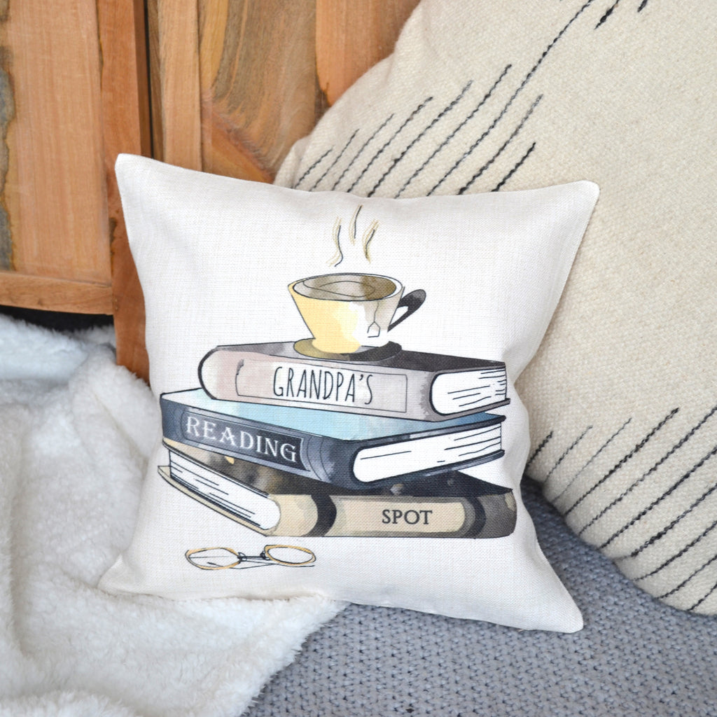 Personalised Reading Cushion Spot