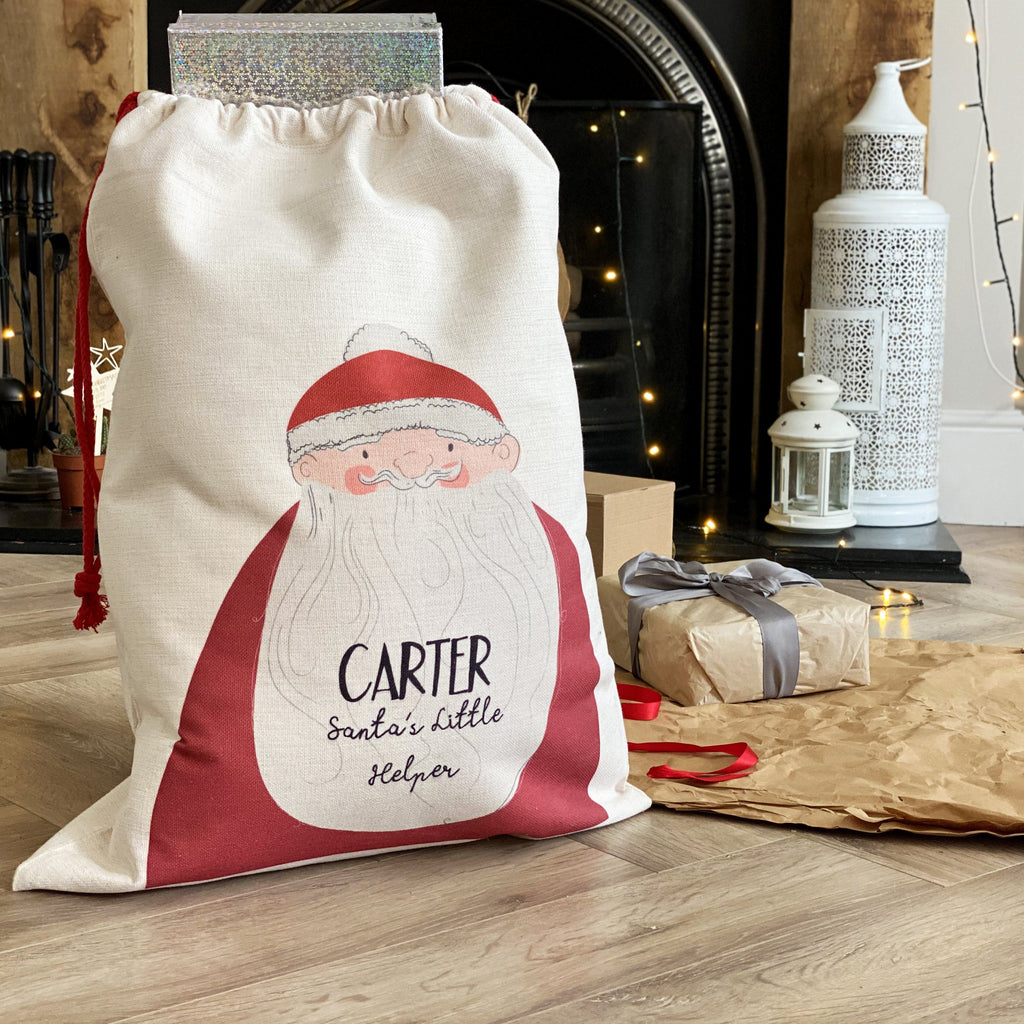 Santa's Little Helper Christmas Sack