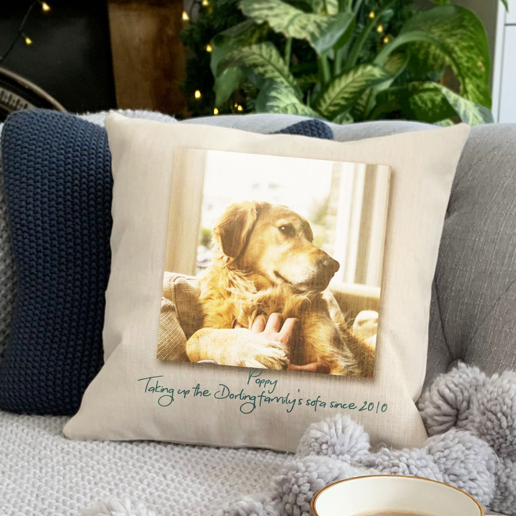Personalised Instant Photo Cushion, cushion, - ALPHS