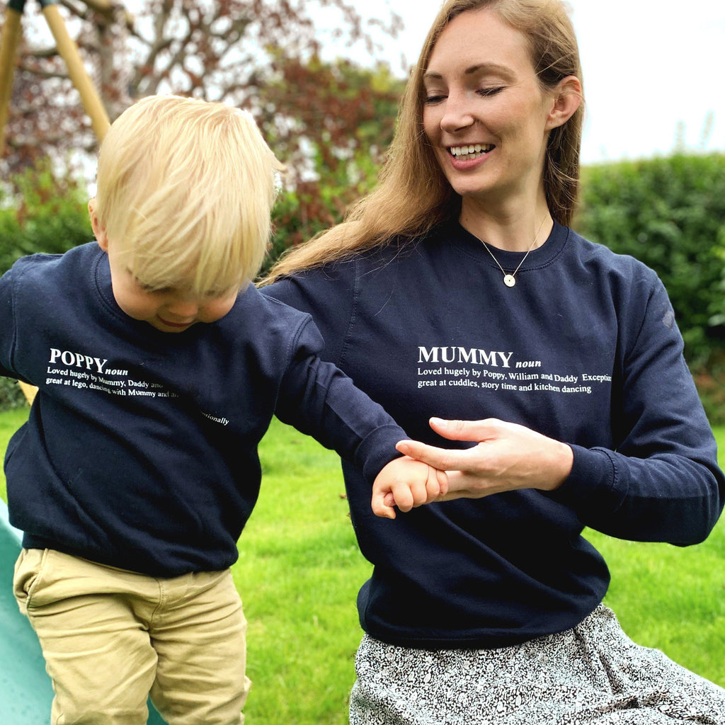 Personalised Dictionary Definition Twinning Sweatshirts, jumper, - ALPHS
