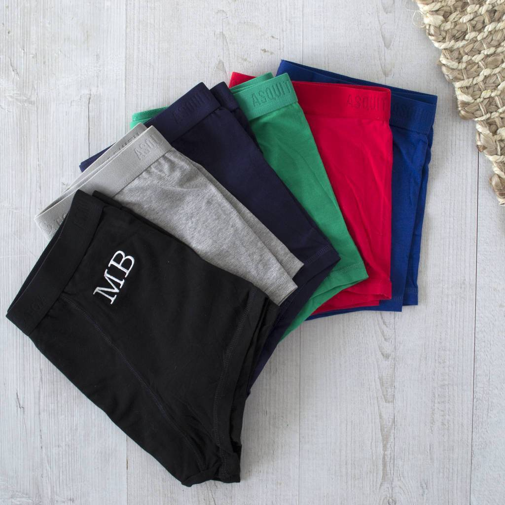Underwear Subscription With Embroidered Monogram, underwear, - ALPHS