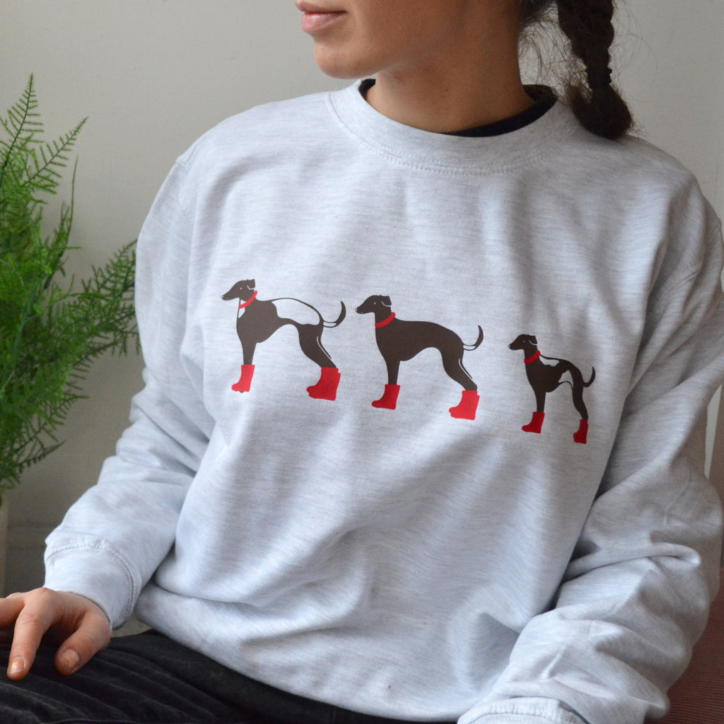 Personalised Whippet Family Jumper