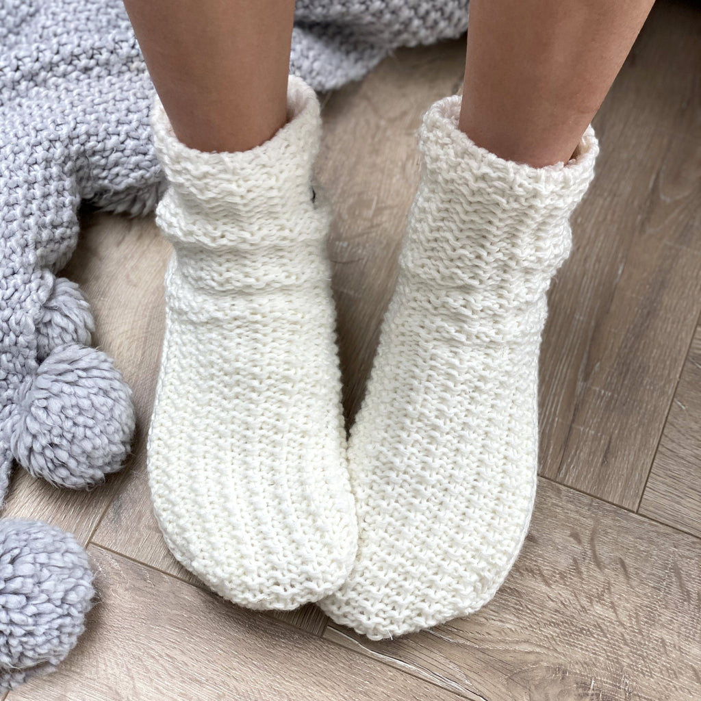 Personalised Initial Slipper Socks