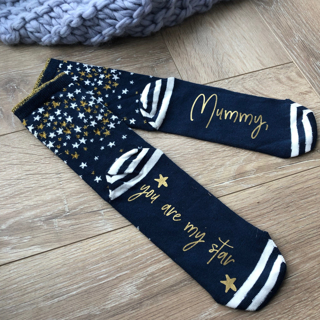Personalised You're a Star Socks