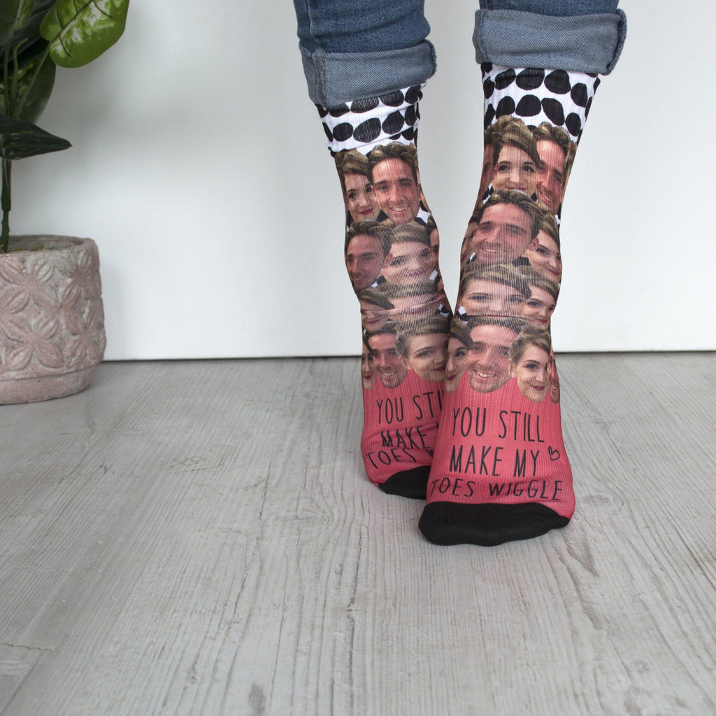 Multiple Face Anniversary Socks, Socks, - ALPHS