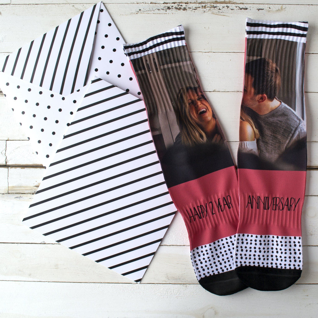 Personalised Anniversary Your Photo Socks, socks, - ALPHS