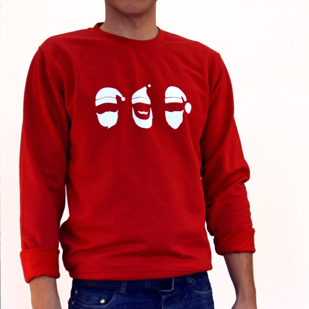 Beardy Christmas Jumper, Jumper, - ALPHS