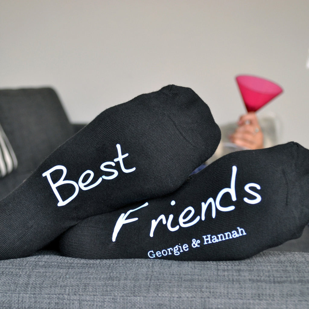 Best Friends Personalised Socks, socks, - ALPHS
