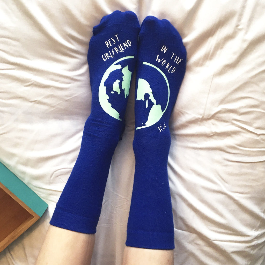 Personalised Gift Socks - Best in the World, Socks, - ALPHS