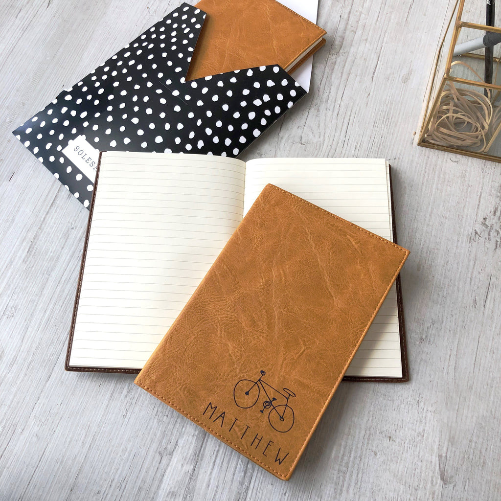 Personalised Bike Notebook, notebook, - ALPHS