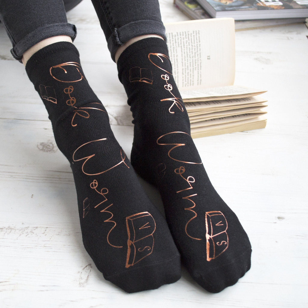 Personalised Socks - Bookworm, Socks, - ALPHS