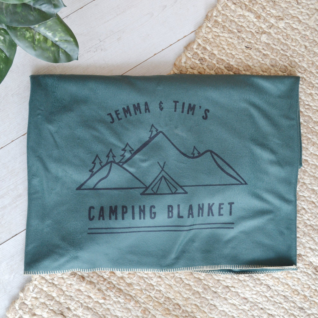 Personalised Camping Blanket
