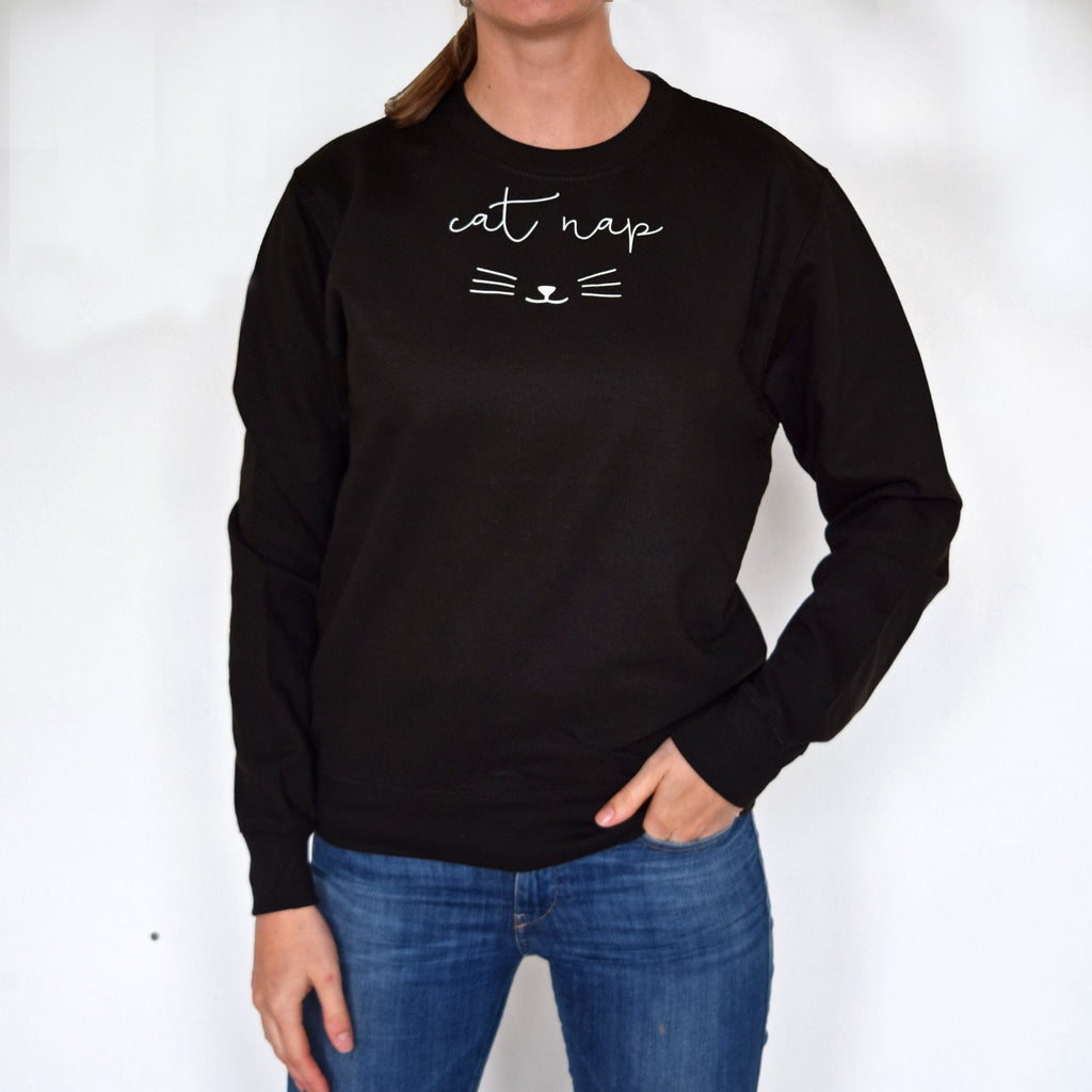 Cat Nap Sweatshirt, Jumper, - ALPHS