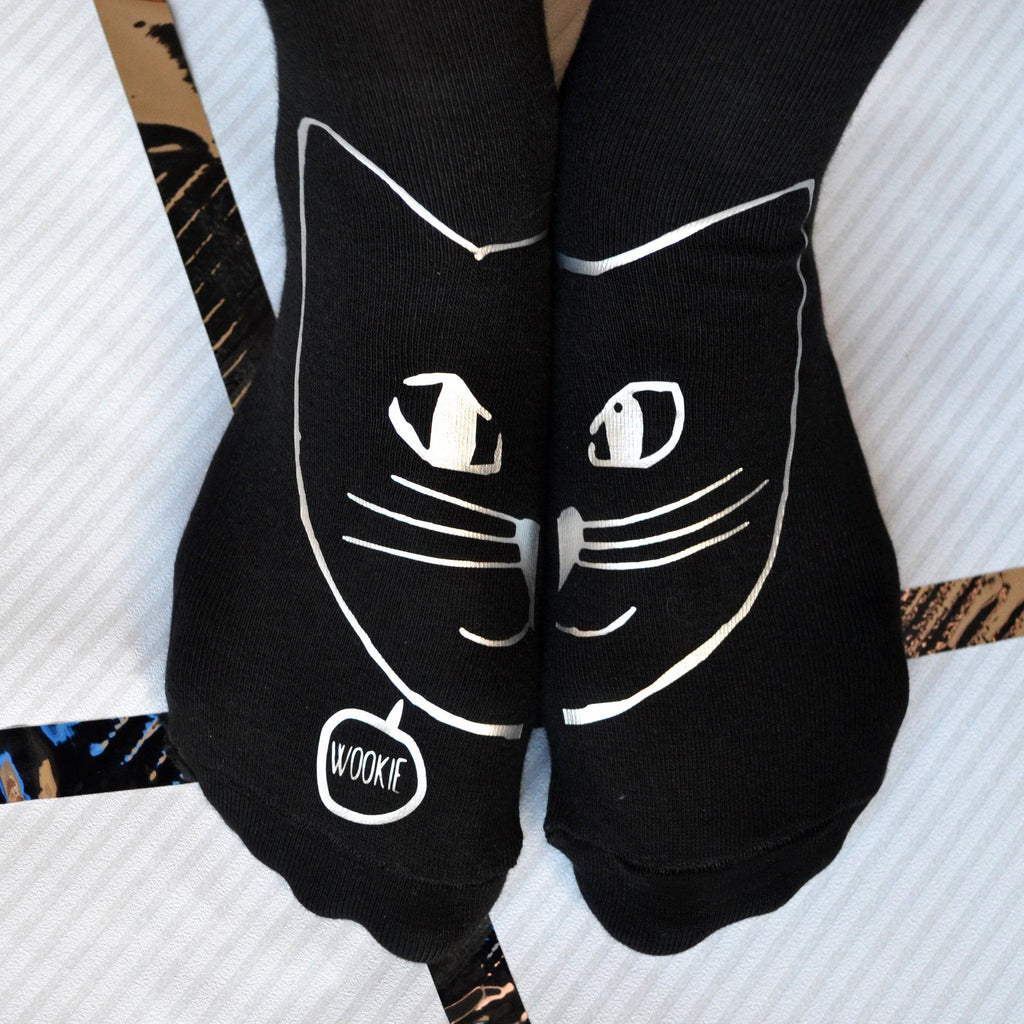 Personalised Cat Socks, socks, - ALPHS