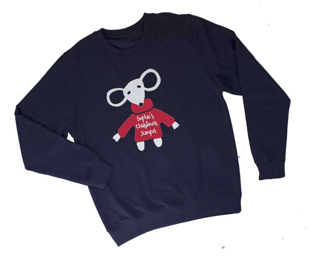 Christmas Mouse Jumper, Jumper, - ALPHS