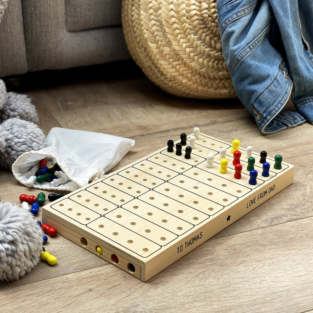 Wooden Secret Code Game
