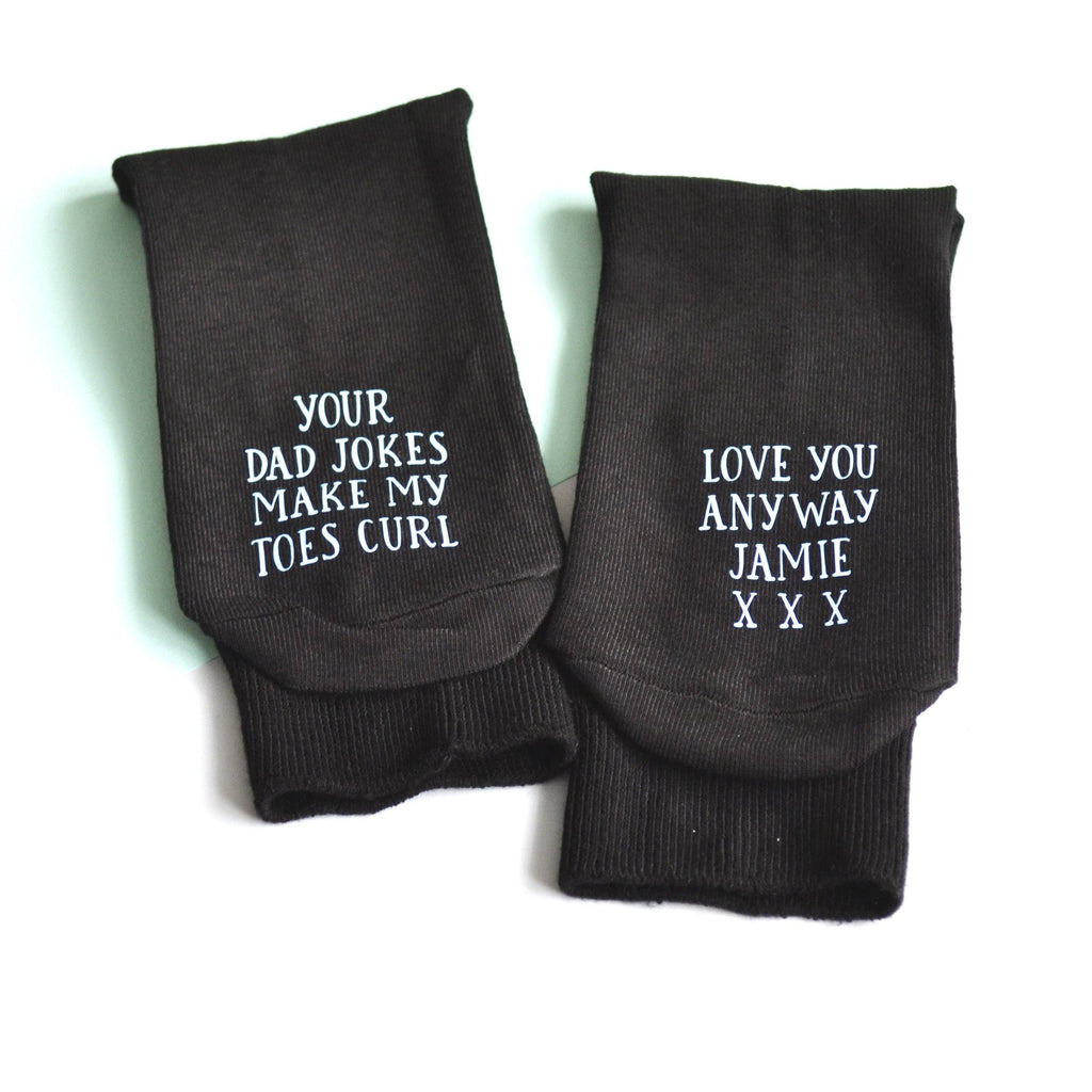 Personalised Dad Joke Socks!, Personalised Socks, - ALPHS