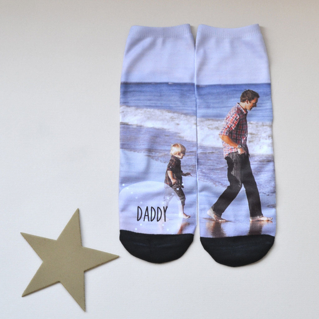 Personalised Father's Day Photo Socks, socks, - ALPHS
