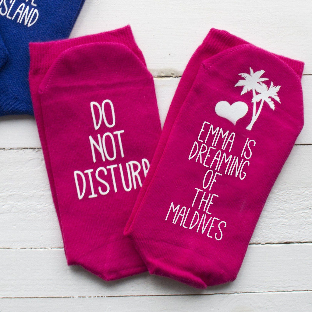 Do Not Disturb Holiday Socks, socks, - ALPHS
