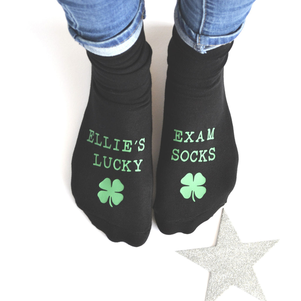 Personalised Exam Socks, socks, - ALPHS
