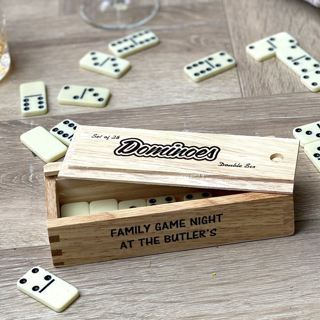 Personalised Family Dominoes Set, Games, - ALPHS