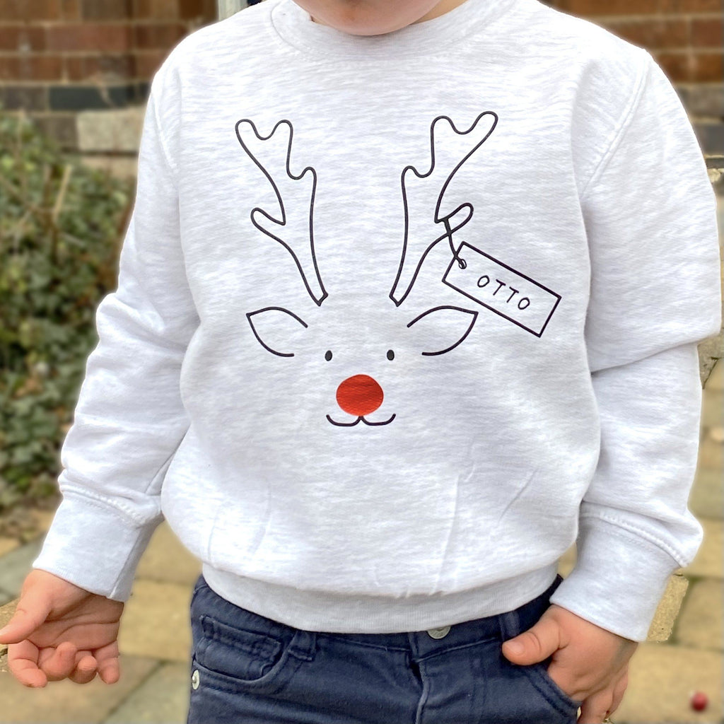 Personalised Matching Family Christmas Jumpers