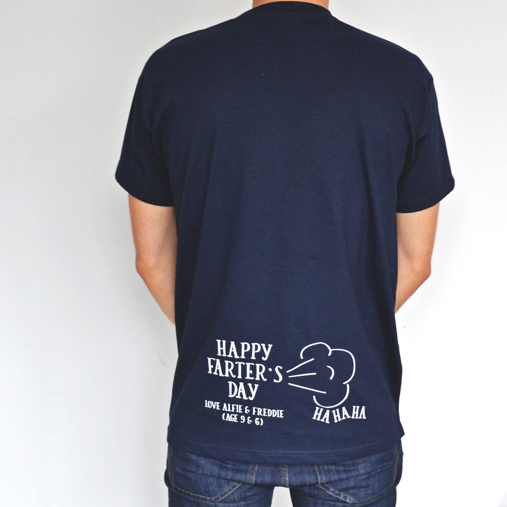"""Farter's Day - Ha Ha"" Personalised T-Shirt, t-shirt, - ALPHS"