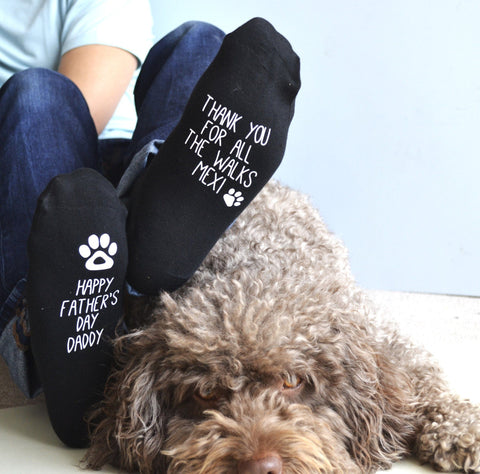 Father's Day Socks From The Dog - ALPHS  - 1