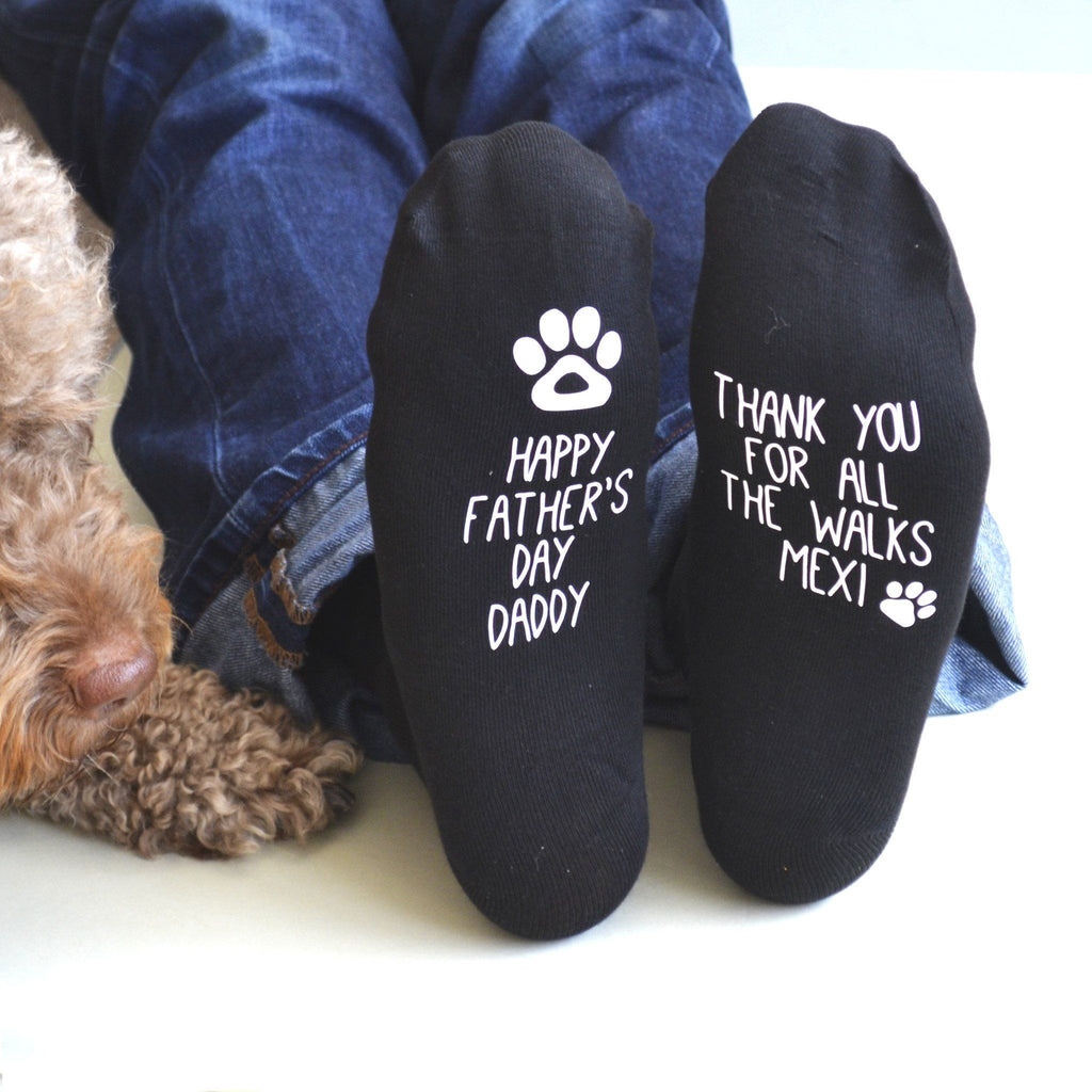 Father's Day Socks From The Dog, socks, - ALPHS