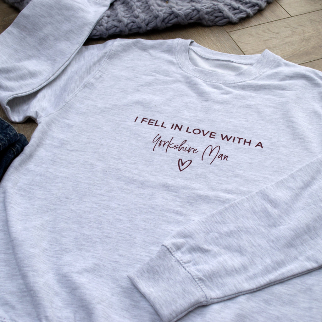 Fell In Love With… Personalised Jumper, Jumper, - ALPHS