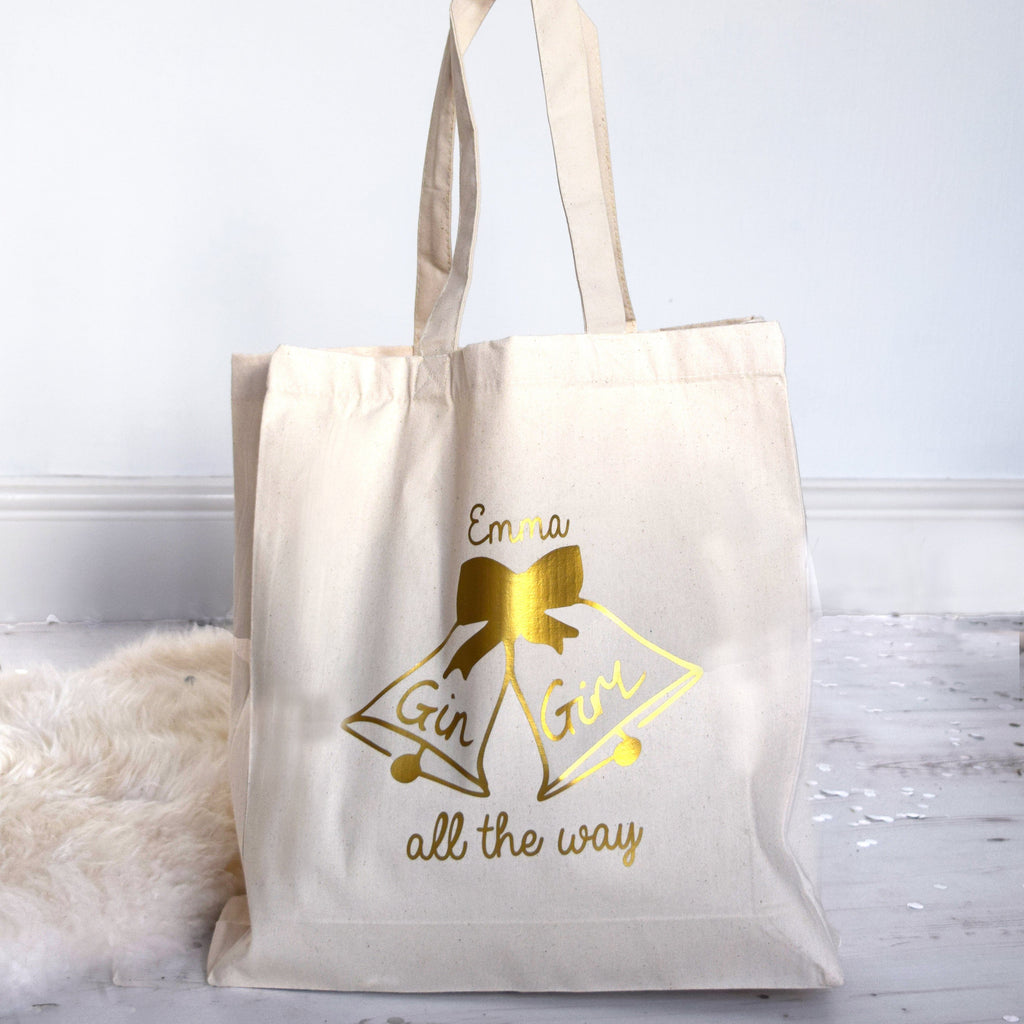 Gin Girl All The Way Tote Bag, bag, - ALPHS