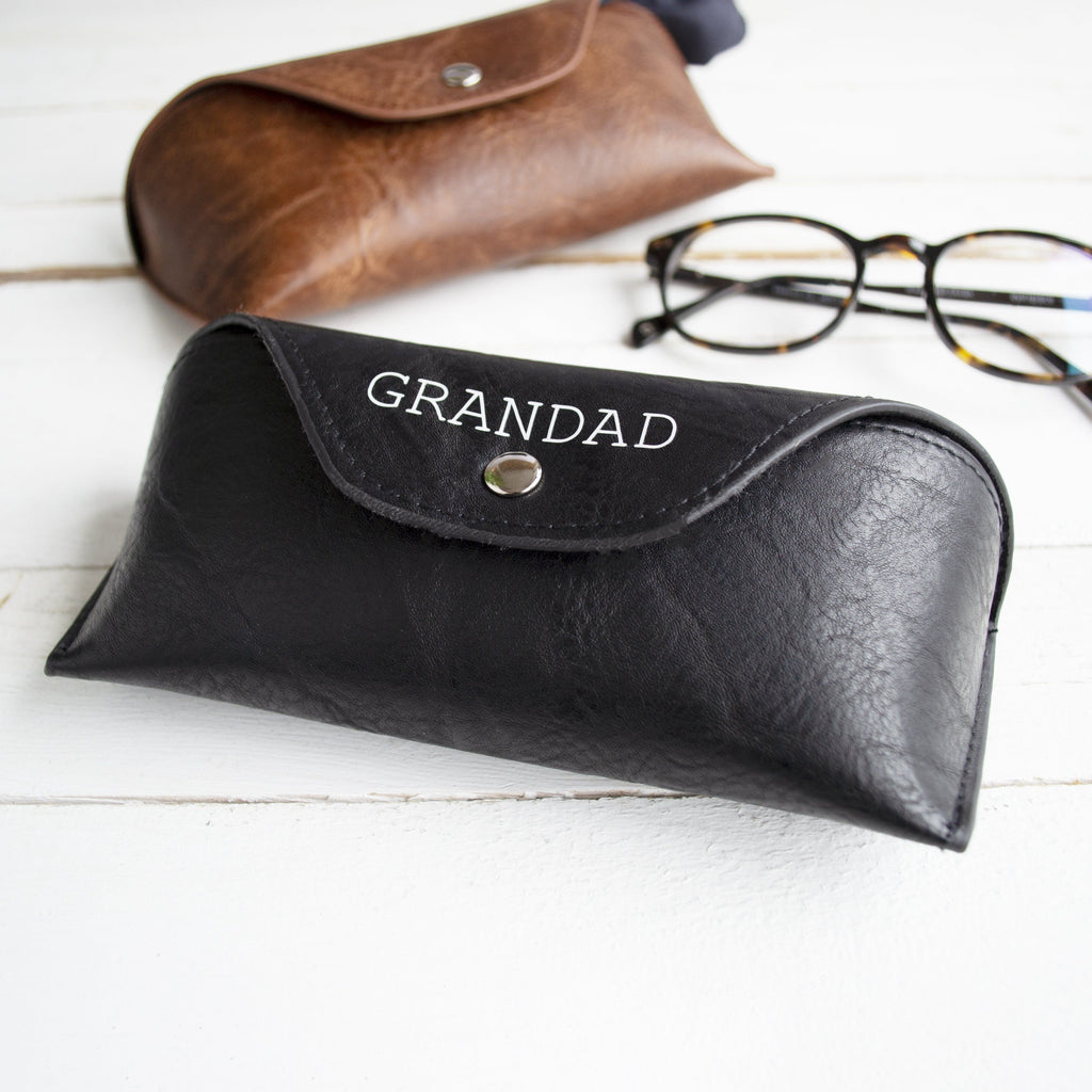 Personalised Men's Glasses Case