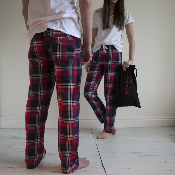 Personalised His And Hers Matching Loungewear Gift Set