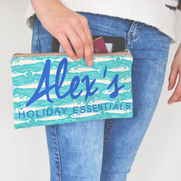 Fish Holiday Essentials Pouch, bag, - ALPHS
