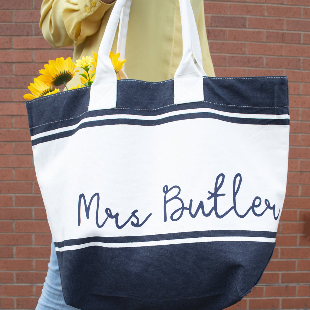 Personalised Honeymoon Beach Bag