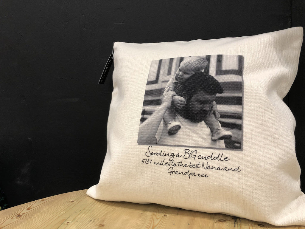 Personalised Instant Photo Cushion
