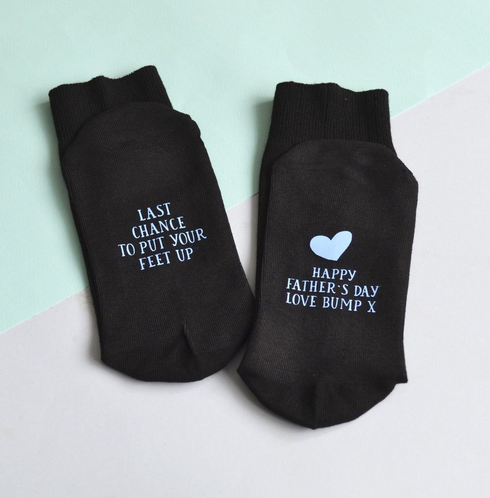 Father's Day From Bump Socks, socks, - ALPHS
