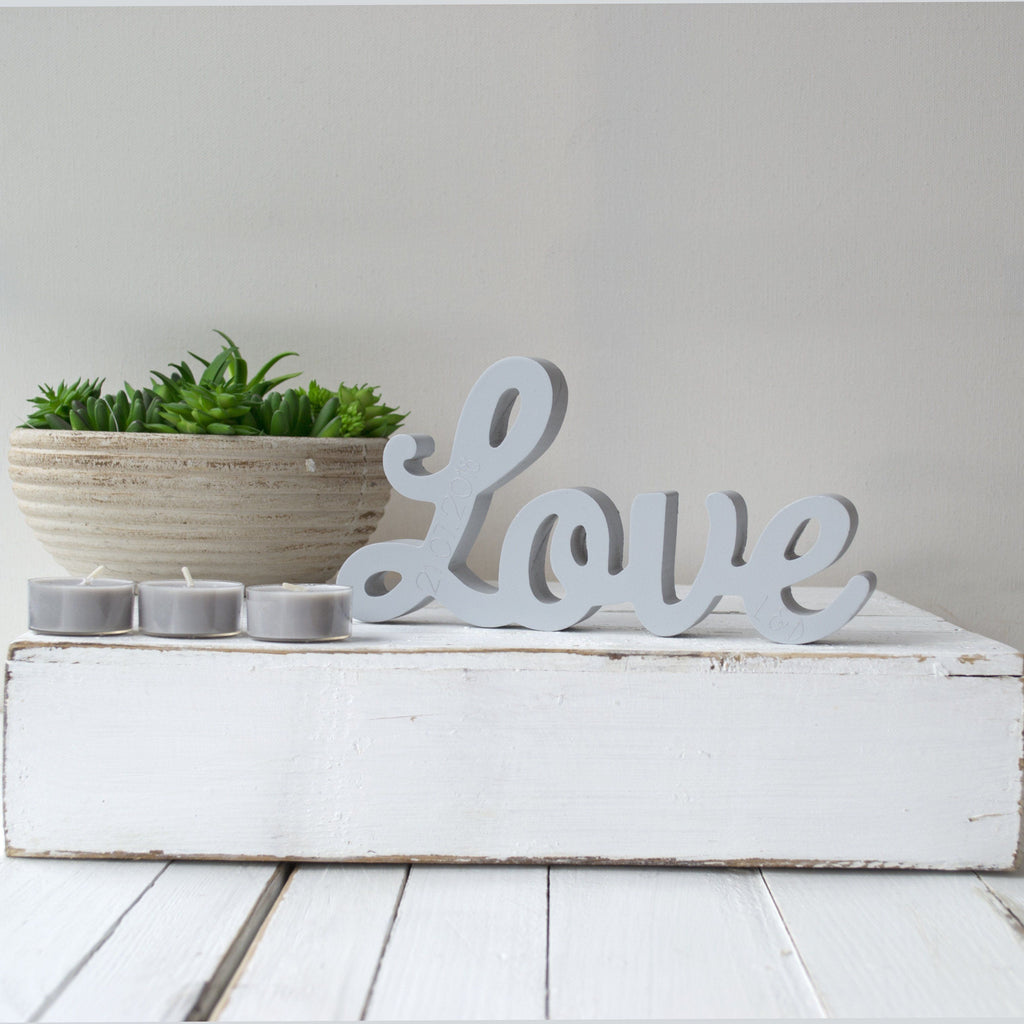 Personalised Love Standing Word, Homeware, - ALPHS